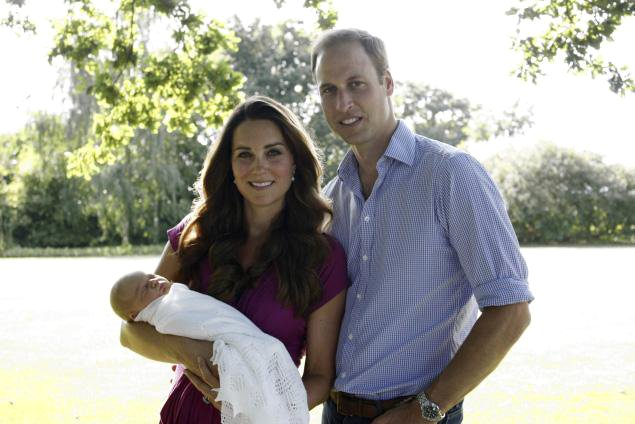 Prince William And Kate Middleton Release First Official