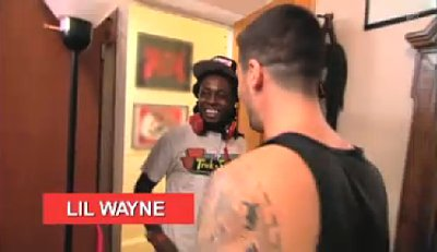 First Promo for 'The Show With Vinny': Lil Wayne Visits 'Crazy Family's' House