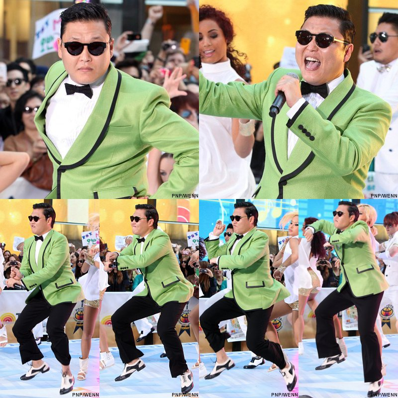 Video: PSY Brings 'Gangnam Style' to 'Today', Teaches Horse Dance to Show's Anchors