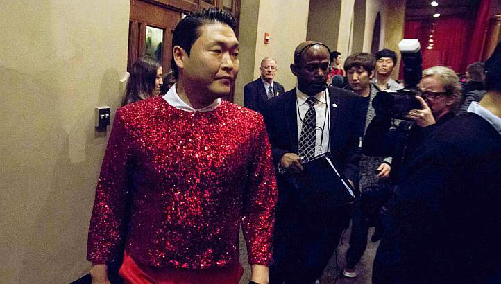 PSY Performs at 'Christmas in Washington' Gig Amidst Anti-American Rap Controversy