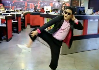 PSY Tries to Outdo Himself With New Dance Moves