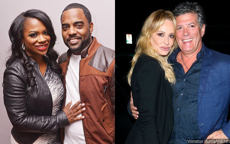 'Real Housewives' Stars Kandi Burruss and Taylor Armstrong Get Married