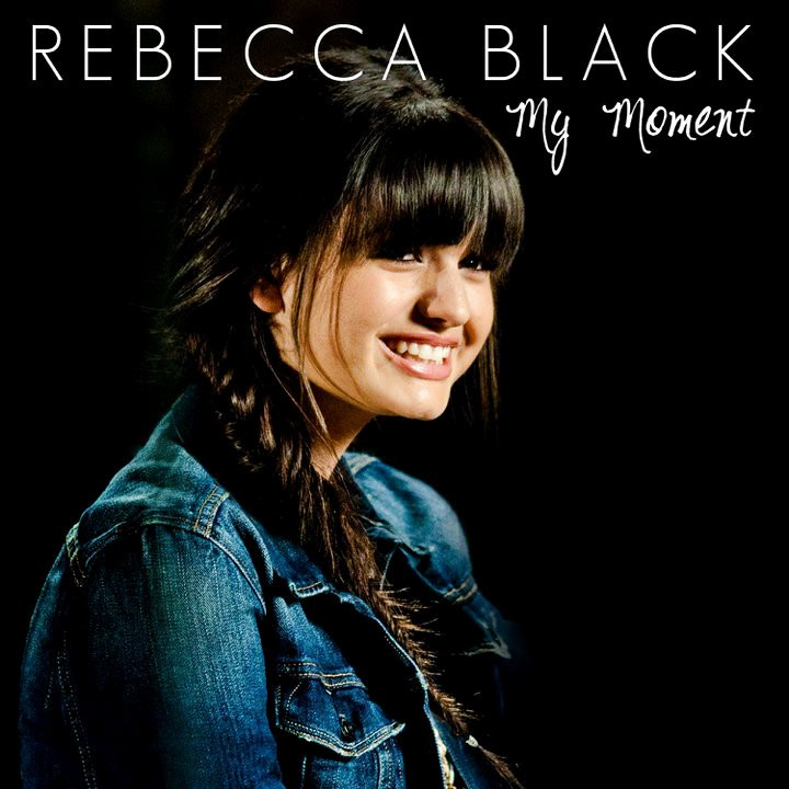 Rebecca Black Reveals Official Cover Art for 'My Moment'