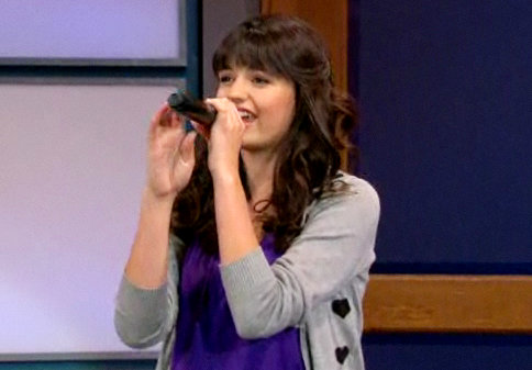 Rebecca Black Lip Synchs on 'Jay Leno', to Donate 'Friday' Proceeds to Japan
