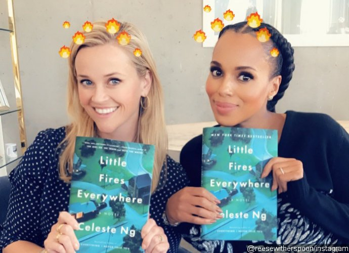 Reese Witherspoon and Kerry Washington Team Up for 'Little Fires Everywhere' Series