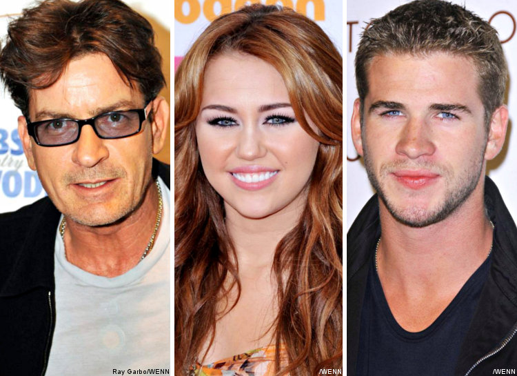 Returning to Twitter for Charlie Sheen, Miley Cyrus Tweets About Liam Hemsworth