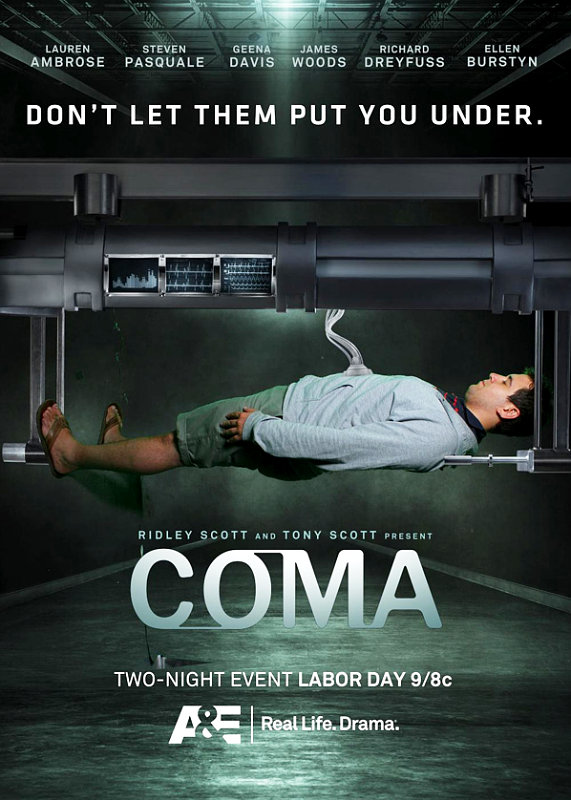 Sneak Peek at Ridley and Tony Scott's Thrilling Miniseries 'Coma'