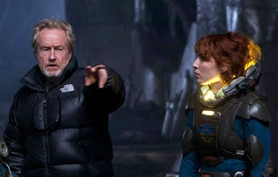 Ridley Scott Hints He Might Make 'Prometheus' Sequel