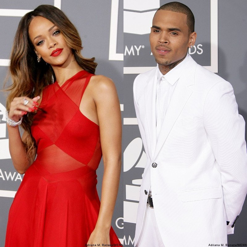Rihanna and Chris Brown Pack on PDA at Grammy's Afterparty