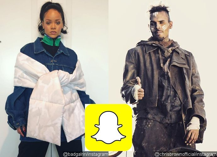Rihanna and Chris Brown Slam Snapchat for Mocking Battery Case, Company Stock Tumbles