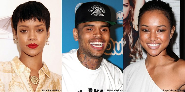 Rihanna and Karrueche Tran Reportedly 'Cool' With Chris Brown's Love Triangle