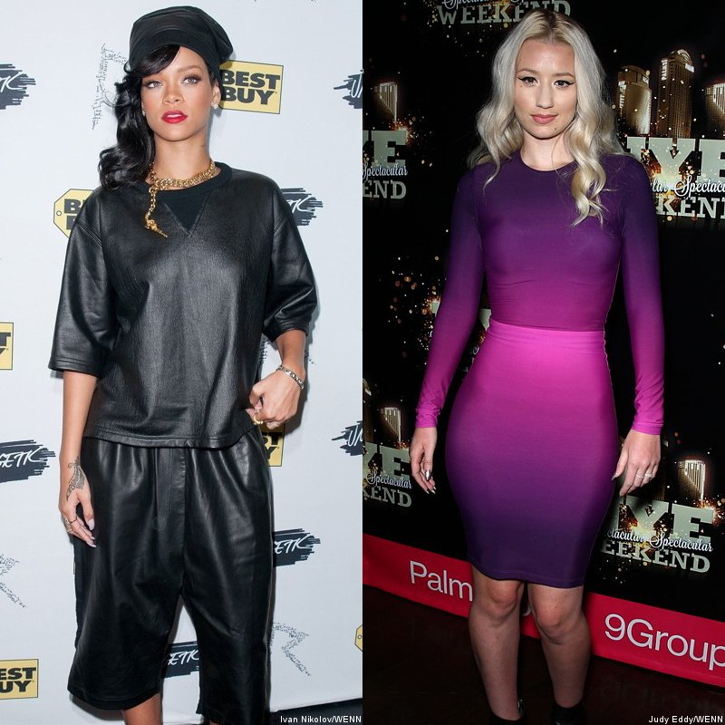 Rihanna Collaborating With Iggy Azalea on a New Song