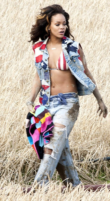 Rihanna Gets Dirty and Flirty for 'We Found Love' Music Video
