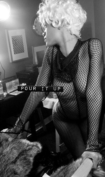 Photo: Rihanna Gets Naked to Tease 'Pour It Up' Video