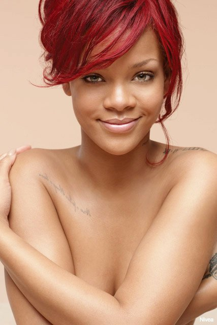 Rihanna Reacts to Being Deemed Too Hot for Nivea