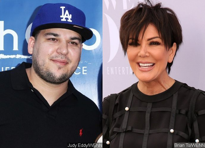 Whoa! Rob Kardashian Surprisingly Tells Mom Kris to 'Shove Your D**k in My Mouth'
