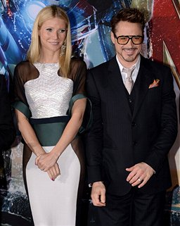 Robert Downey Jr. and Gwyneth Paltrow Hit L.A. for 'Iron Man 3' Premiere