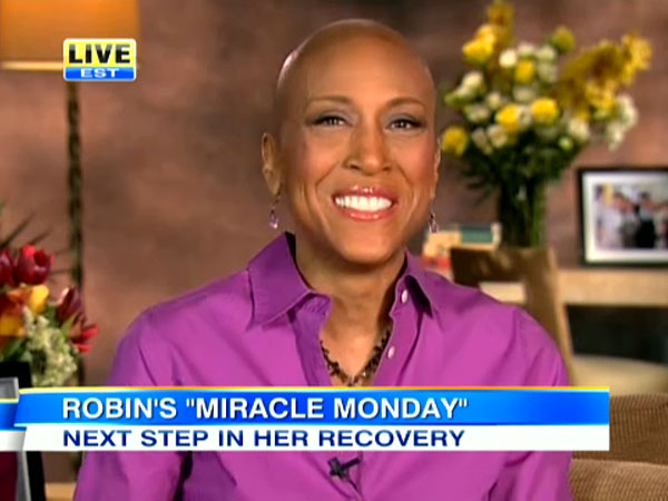 Robin Roberts Announces Return to 'GMA' Anchor Chair After Bone Marrow Transplant
