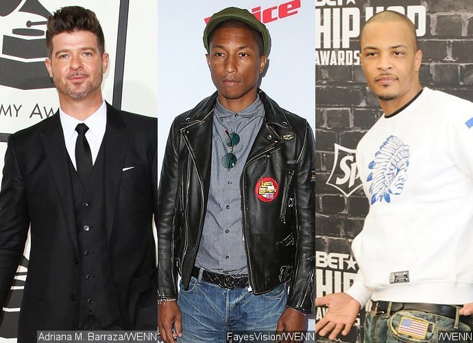 Robin Thicke, Pharrell and T.I. Officially Appeal 'Blurred Lines' Copyright Verdict