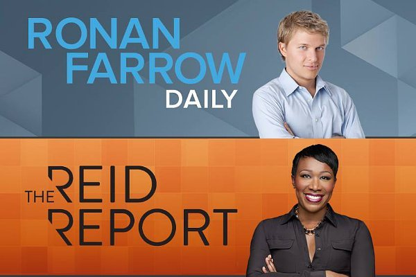 'Ronan Farrow Daily' and 'Reid Report' Axed by MSNBC