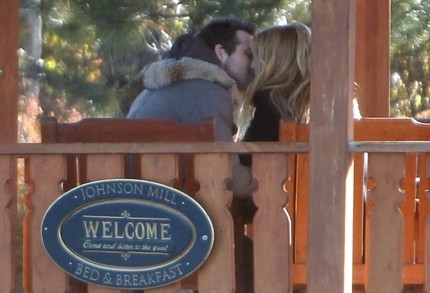 Ryan Reynolds and Blake Lively's Smooch Caught on Camera