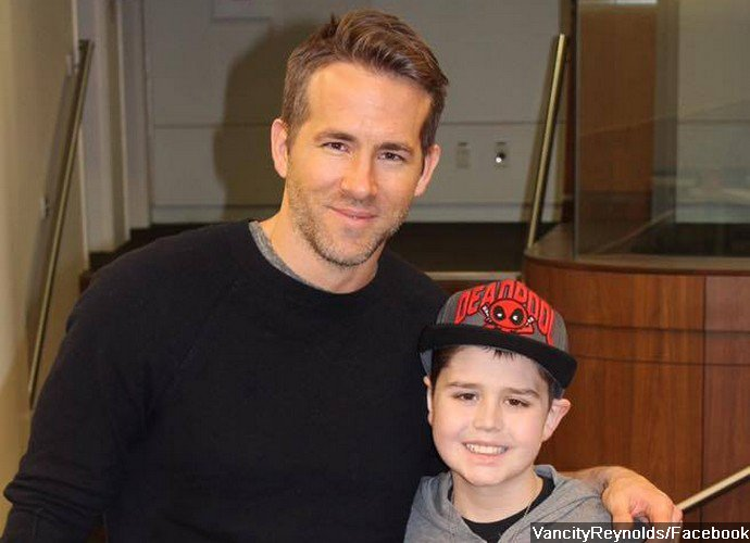 Ryan Reynolds Let Young Fan Battling Cancer See First Screening of 'Deadpool'