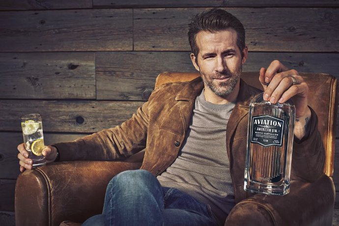 Ryan Reynolds Now Owns a Gin Company