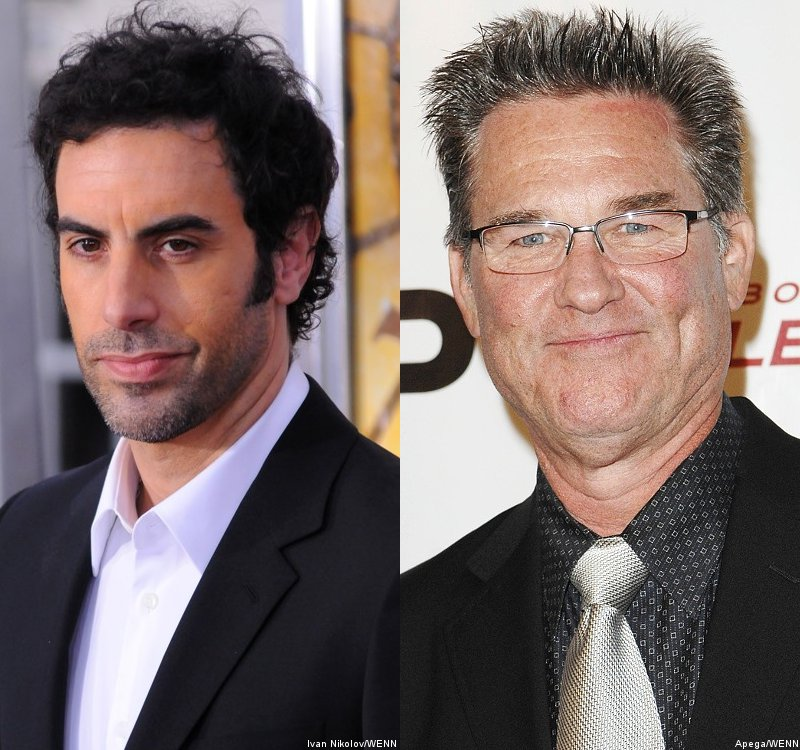 Sacha Baron Cohen and Kurt Russell Bail Out of 'Django Unchained'