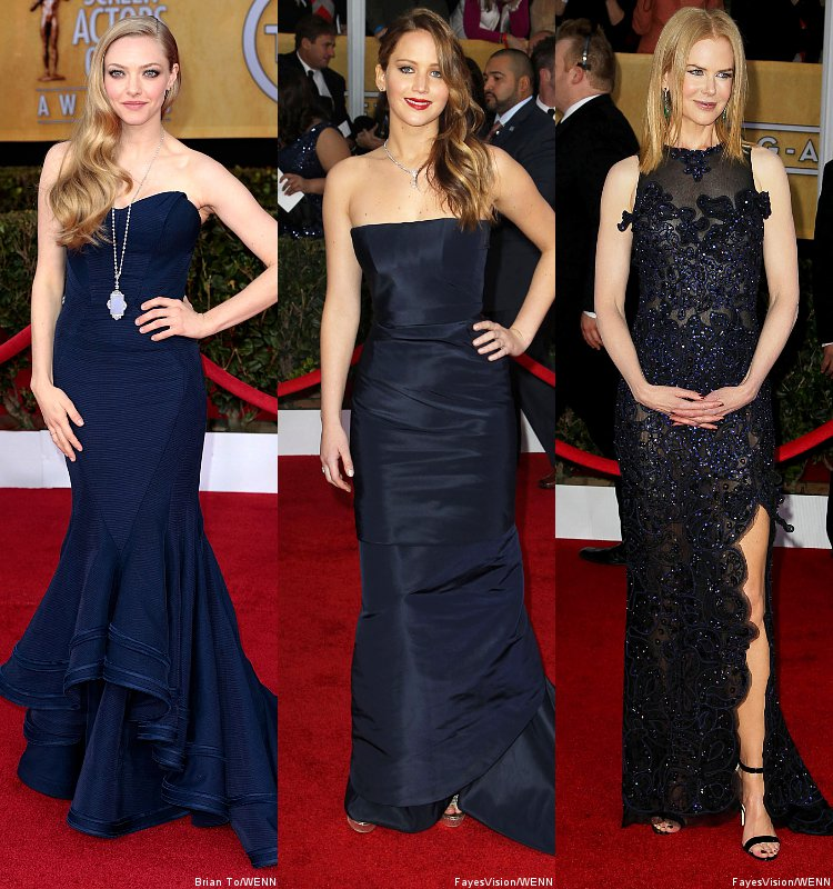 SAG Awards 2013: Amanda Seyfried, Jennifer Lawrence, Nicole Kidman Hit Red Carpet