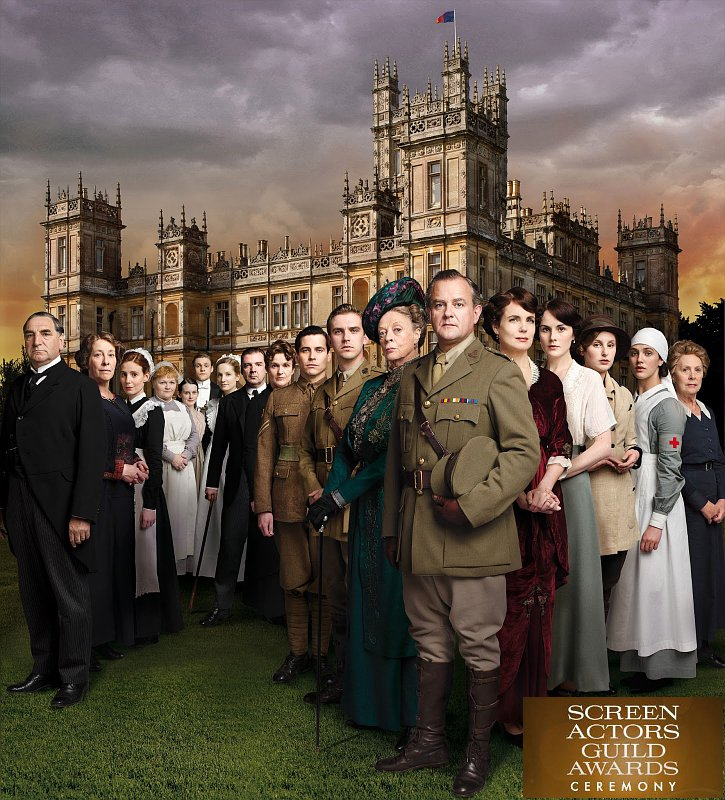 SAG Awards 2013: 'Downton Abbey' Rounds Out Full Winner List in TV