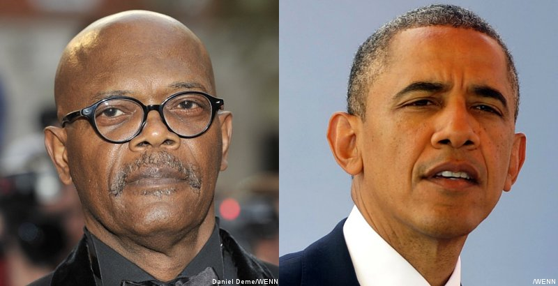 Samuel L. Jackson Tells President Obama to Stop Relating and Be 'Presidential'