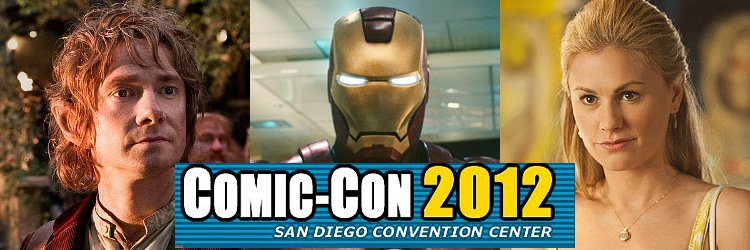 San Diego Comic-Con 2012: Schedule of Selected TV and Movie Panels on Saturday