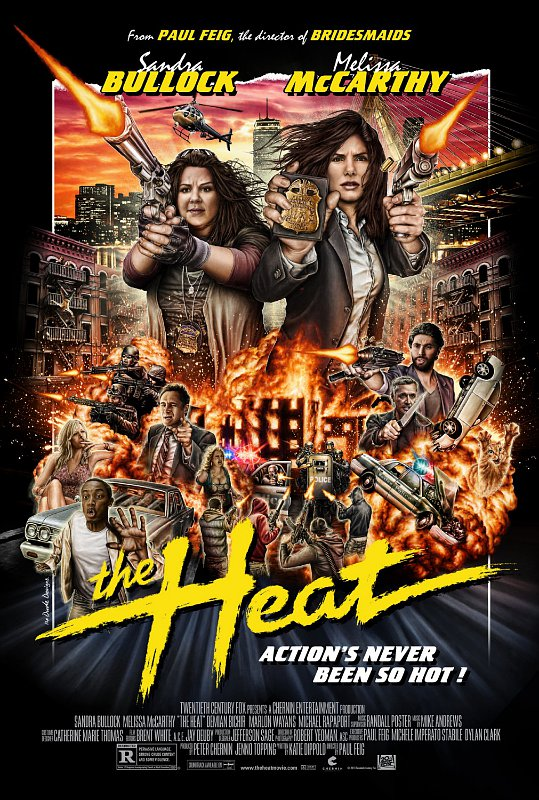 Sandra Bullock and Melissa McCarthy Go 'Hot' in 'The Heat ...