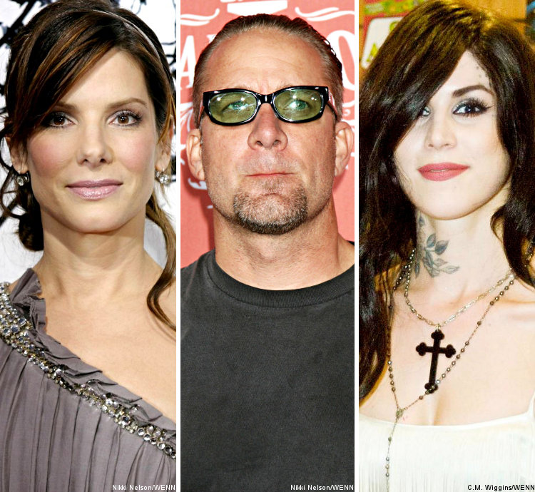 Sandra Bullock's Ex-Husband Claims Kat Von D Is Better in Bed