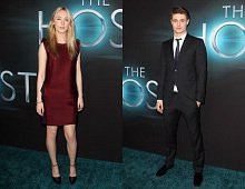 Saoirse Ronan and Max Irons Hit Green Carpet of 'The Host' Hollywood Premiere