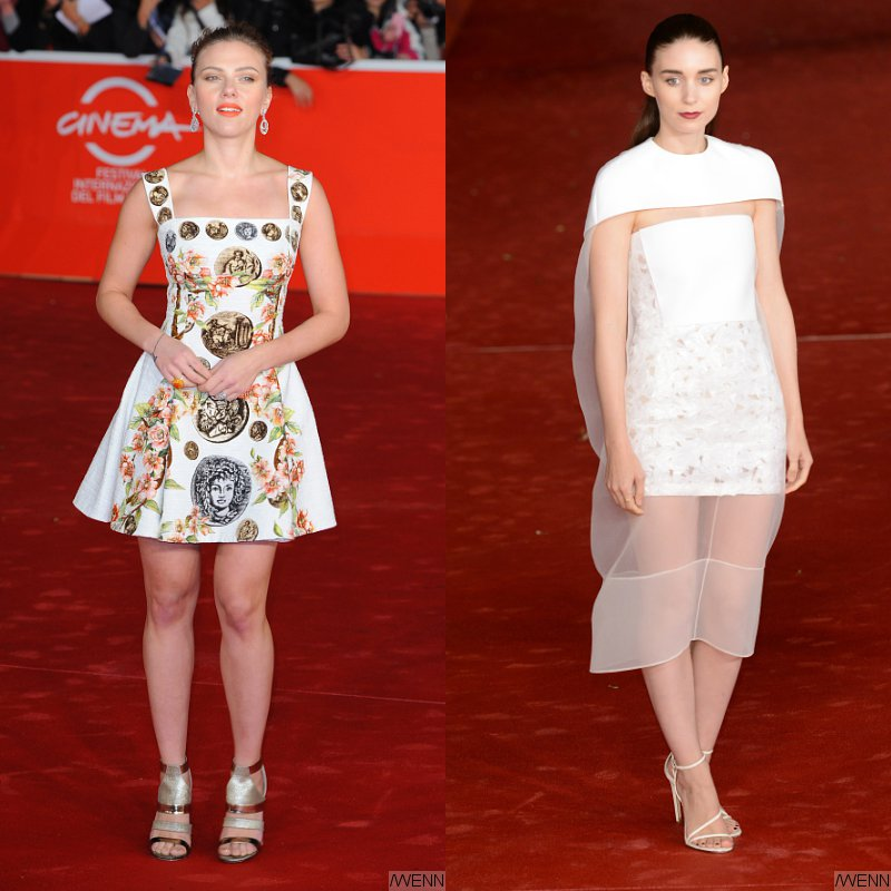 Scarlett Johansson and Rooney Mara Premiere 'Her' at Rome Film Festival