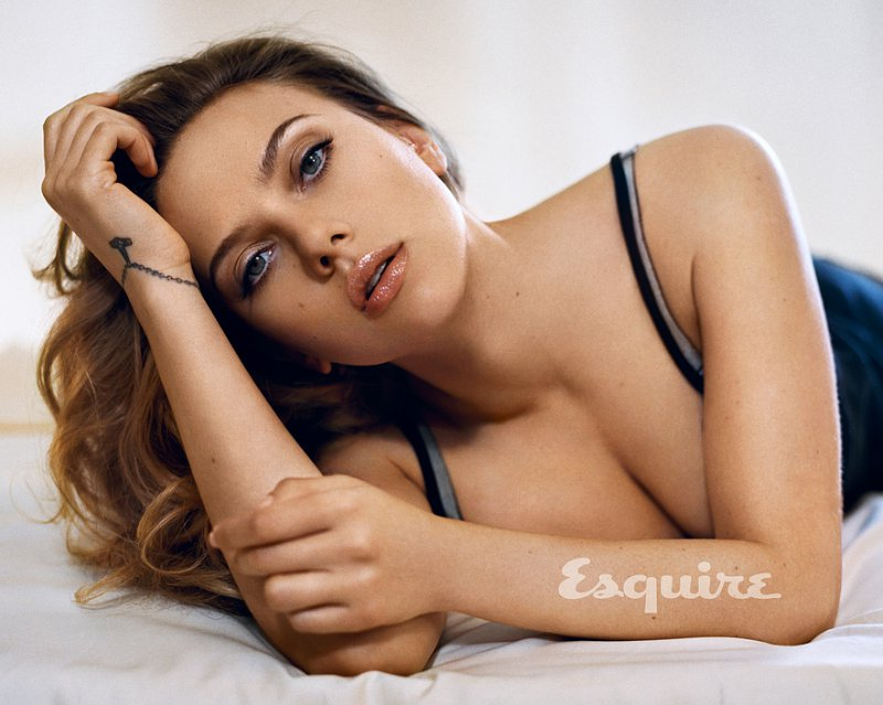 Scarlett Johansson Named Esquire's Sexiest Woman Alive for Second Time