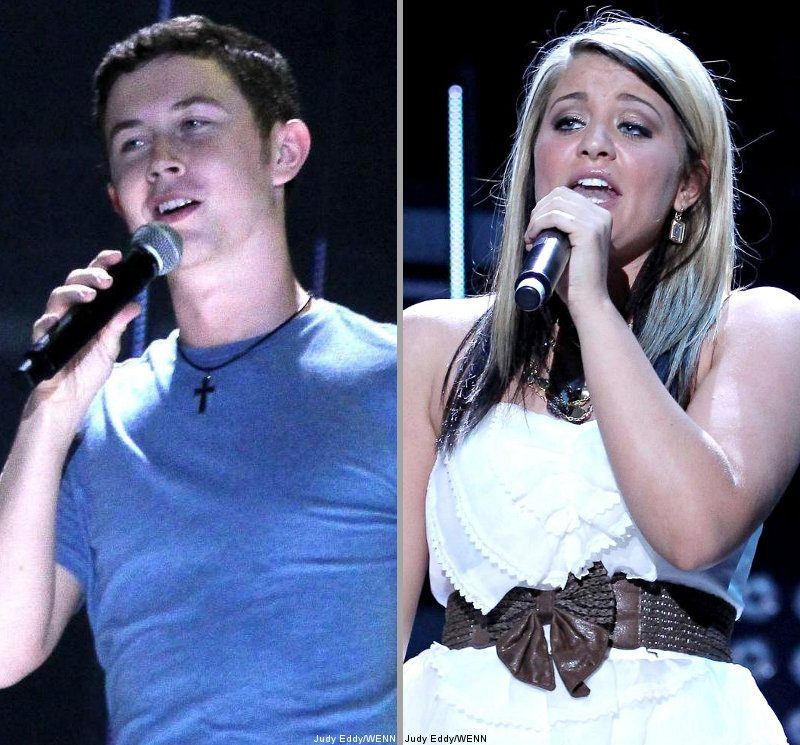 Pics: Scotty McCreery and Lauren Alaina Performing at CMA Music Fest