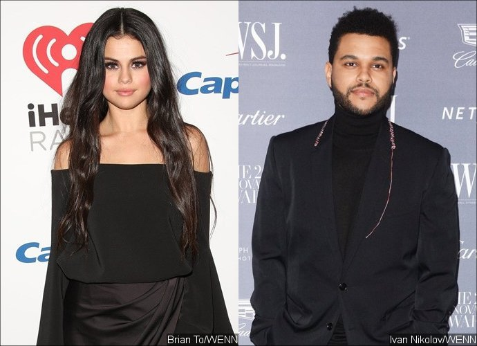 selena gomez weeknd hold hands during romantic date night angeles