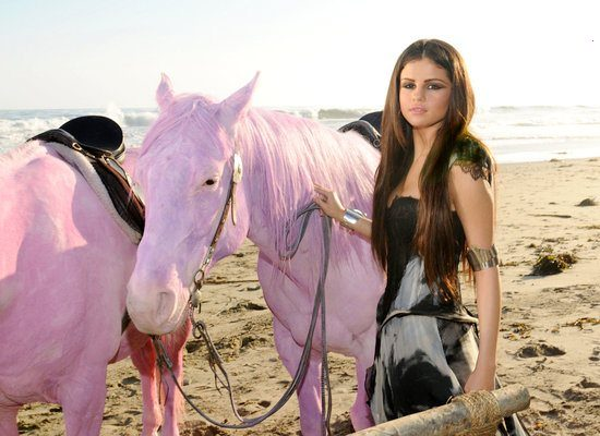 Selena Gomez Excludes Controversial Pink Horses From Music Video