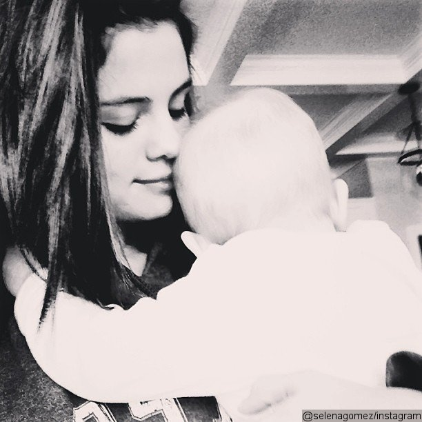 Selena Gomez Is the 'Happiest' She Has Ever Been, Cuddles Baby Sister in Instagram Photo