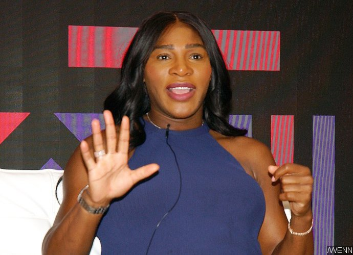 Serena Williams Draws on Baby Bump to Show Where Exactly Her Baby Is Positioned