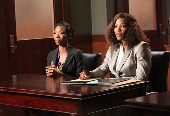 Serena Williams Is a Tough Lawyer in New 'Drop Dead Diva' Clip