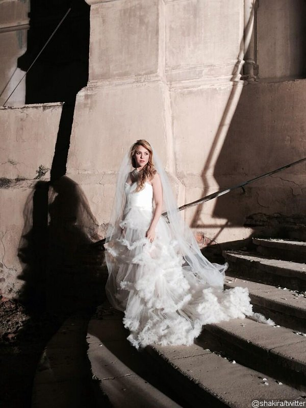 Photos: Shakira Dresses as a Bride in 'Empire' Music Video