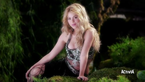 Shakira Previews 'Dare (La La La)' in Activia Commercial