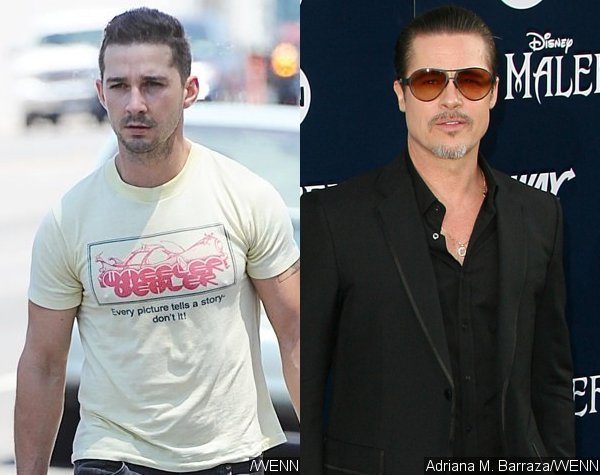 Shia LaBeouf Tries to Fight Alcoholism, Doesn't Want to Embarrass Brad Pitt