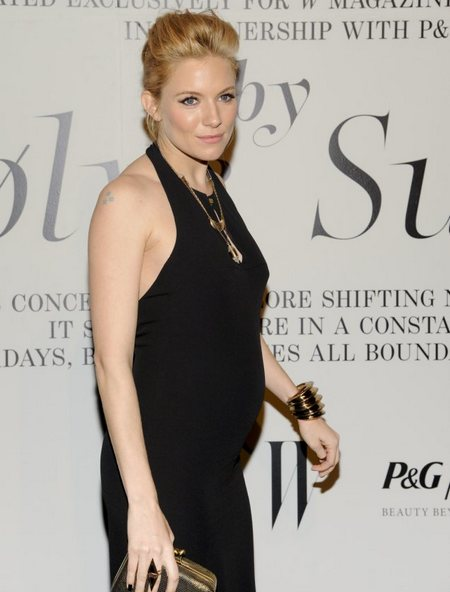 Sienna Miller Steps Out With Undeniable Baby Bump