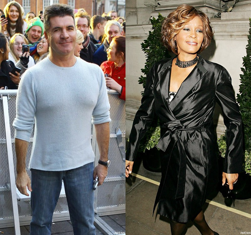 Simon Cowell Confirms Whitney Houston Was a Potential 'X Factor' Judge