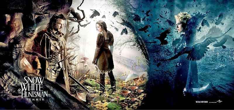 New 'Snow White and the Huntsman' Banner Highlights the Film's Fantasy World