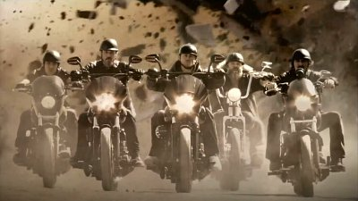 Sons of Anarchy' Debuts New Explosive Promo for Season 6